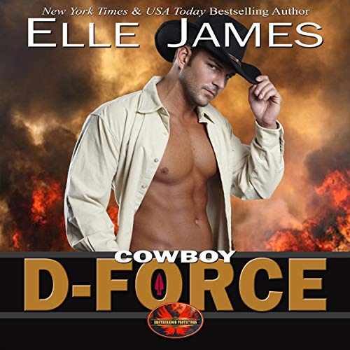 Cowboy D-Force audiobook cover art