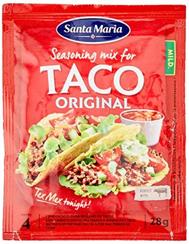 Eurofood 9021 Spezie Miste per Taco - 28 Gr