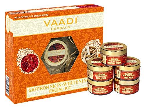 Vaadi Herbals Saffron Skin Whitening Facial Kit wi