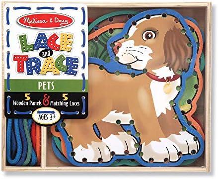 Melissa & Doug Lace & Trace Pets