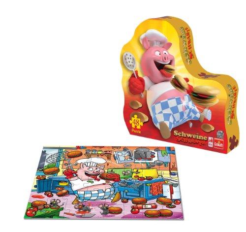 Goliath Toys 71111012 - Schweine Schwarte Puzzle