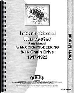 McCormick Deering 16-8 Tractor Parts Manual