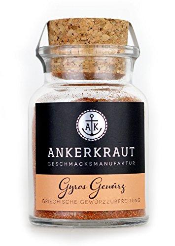 Ankerkraut Gyros Gewürz, 80g im Korkenglas