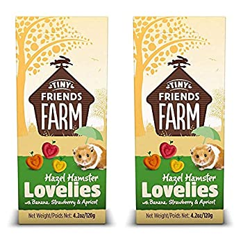 SupremePetfoods Tiny Friends Farm Hazel Hamster Lovelies with Banana Strawberry & Apricot 4.2 oz - Pack of 2