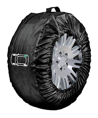 Lampa 15941 Tyre-Wrap Deluxe Set 4 Copriruota in Cordura