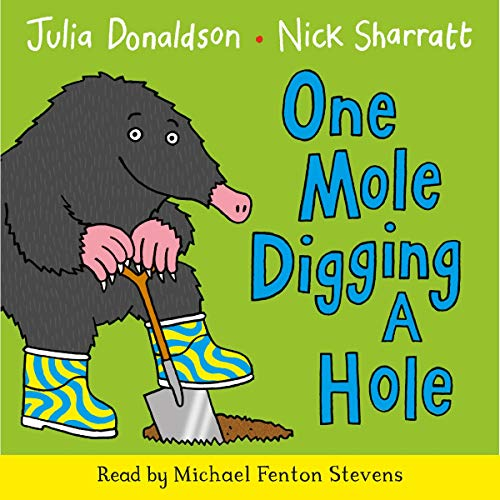 One Mole Digging a Hole cover art