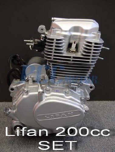 70L LIFAN 200CC 5 SPEED ENGINE MOTOR CDI MOTORCYCLE DIRT BIKE ATV GO KART SET EN25-SET