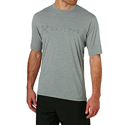 Haglöfs Ridge II T-Shirt, Grau, S Mixte
