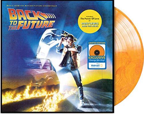 Back To The Future Original Soundtrack (WM Exclusive Orange Vinyl) LP Record