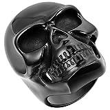 JewelryWe Bague Cool Grand Crâne Gothique Tête de Mort en Acier Inoxydable Anneau...