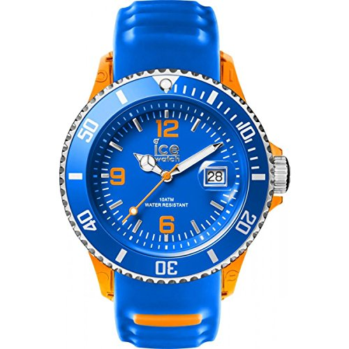 Ice-Watch - ICE sporty Blue Orange - Men's wristwatch with silicon strap - 001331 (Extra large)