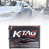 Terynbat ECU Herramienta de programación con fichas ilimitadas-KTAG Firmware V7.020 Software V2.23 Versión (caja)