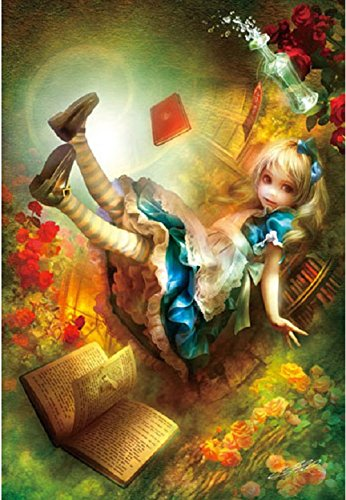 Apple One 300 Piece Jigsaw Puzzle Shu Foreign Alice (26 X 38 Cm) (japan import)