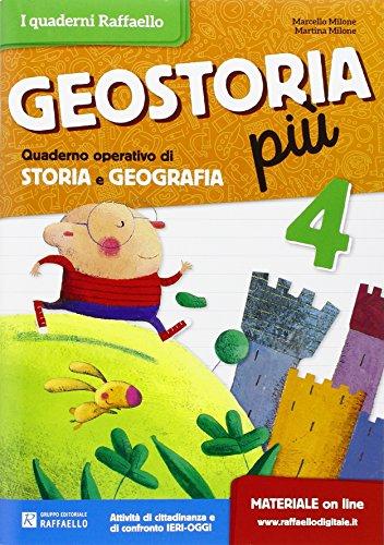 Geostoria. Quaderno operativo di storia e geografia. Per la Scuola elementare: 4