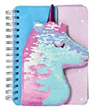 Girls love to have a special journal where they can write thoughts, doodles, secrets and wishes! This fun notebook features a pretty flip-sequin silhouette unicorn cover that will keep her coming back to write again and again! Gather autographs from ...
