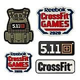 WBNCUAP 3D Chaleco táctico Crossfit 511 Deporte Ejército PVC Velcro Parches...