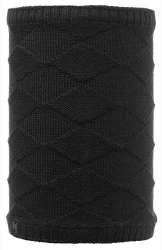 Buff Cache-cou multifonction réversible tricoté en polaire Taille unique Carbune