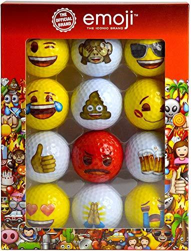 Emoji-Golfbälle, 12Stück