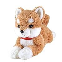 サンレモン(SUN LEMON) ひざわんこ 柴犬 ベージュ ぬいぐるみ Sサイズ P-3052