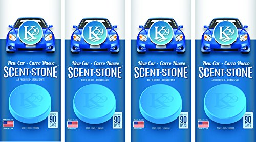Sterling Teal (K16002-4) K29 'New Car' Stone Air Freshener, (Pack of 4)