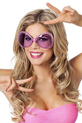Wilbers 20009 Sonnenbrille 70er Jahre Pink