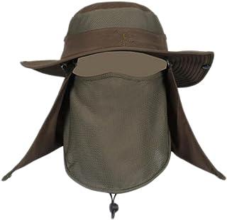 George Jimmy Sombrero con Estilo de protección Solar Vaquero al Aire Libre Pesca/Escalada/Náutica Hat-01