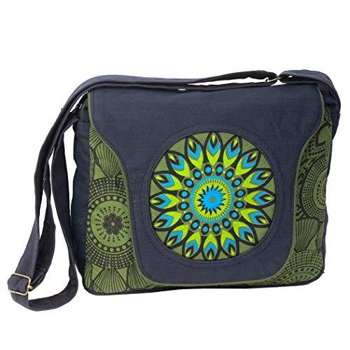 Uyuni Bolso bandolera hippie mandala (Verde)