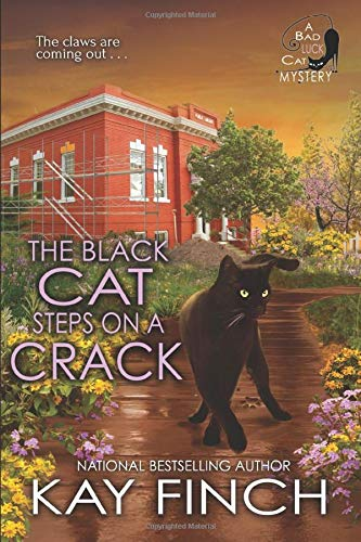 The Black Cat Steps on a Crack (A Bad Luck Cat Mystery)