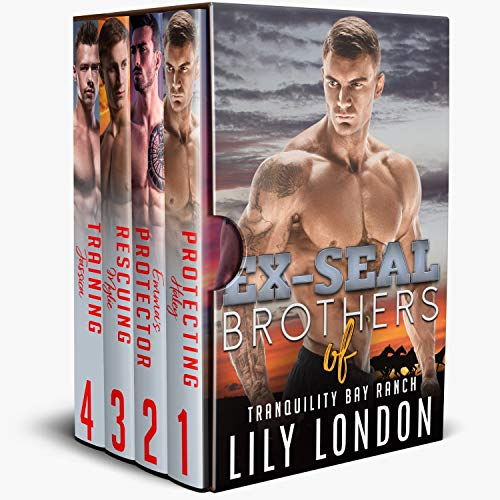 EX-SEAL Brothers of Tranquility Bay Ranch: (Tranquility Bay Ranch Romance Series Box Set) (English Edition)