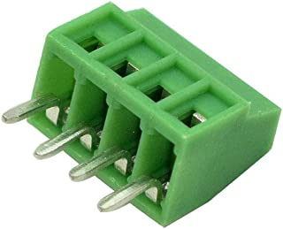 TOUHIA Dual Row 600V 25A 6 Position Screw Terminal Wire Barrier Electric Wire Strip Block 5 Set 400V 25A 6 Positions Pre-Insulated Terminal Barrier Strip