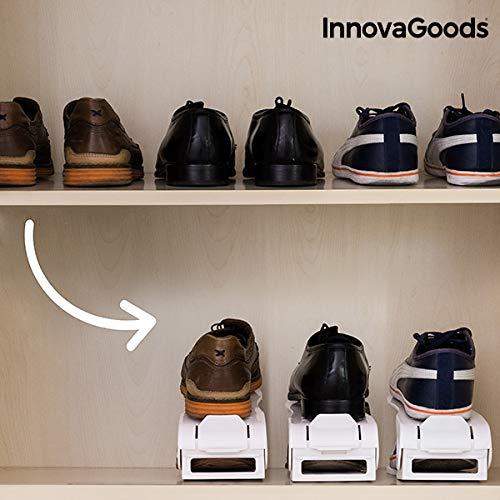 KODZY Global InnovaGoods Étagère à Chaussures réglable (6 Paires)