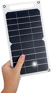 WANGYONGQI Board de Chargement Solaire Portable 10W, Panneau de Charge Solaire d'urgence en Plein air de 5V Chargeur Solai...