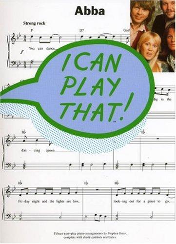 ABBA: I Can Play That (PVG Album): Noten für Gesang, Klavier (Gitarre)