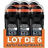 L'Oréal Paris Men Expert - Carbon Protect Ice Fresh - Déodorant Bille Homme Anti-Traces - 50 ml -...