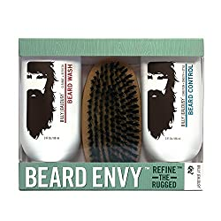 Use a beard brush with the right wash and conditioner for stellar results.