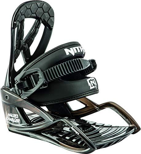 Nitro Snowboards Charger Micro Snowboard Bindung Unisex Kinder Black, XS