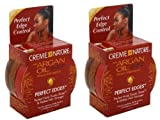 Creme of nature Creme Of Nature Argan Oil Perfect Edges Control Hair Gel2.25 Oz Pack Of 2 by Creme of Nature