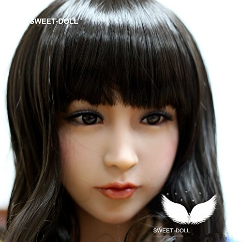 Sex Doll Head for Oral Sex, Angela,Sex Toys Adult Toys, Head Only