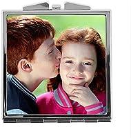 LolaPix Espejo Cuadrado Personalizado con tu Foto, diseño o Texto, Original y Exclusivo. Varias Formas