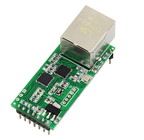 SHAPB Ethernet Module Network to Serial Port RJ45 to TTL Network Port USR-TCP232-T2 can be Applied to The 232/485 interfaces for IOT