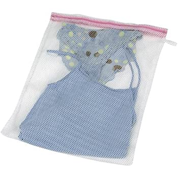 Image: Mesh Lingerie Delicates Wash Bag | Household Essentials | Easy Close Non-Rusting, Nylon Zipper | Protects Your Delicates  | Eliminates Separate Washing Cycles | Saves You Water, Electricity And Time