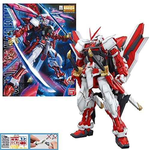 Bandai Hobby MG Gundam Kai Model Kit (1/100 Scale), Astray Red Frame