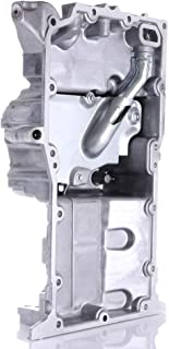 SCITOO Compatible with 264-477 Engine Oil Pan Steel Assembly Fits 01-05 L4 2.2L Cummins Diesel Chevrolet Cavalier Saturn Ion L100 L200 LW200 LS Pickup Truck