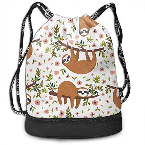 Lightweight Multifunction Cute On Tree Fashion Bundle Backpack Shoulder Bags Outdoor Drawstring Bag Drawstring Backpack