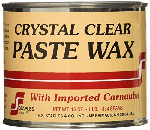 paste waxes STAPLES 211 Carnauba Paste Wax, 1-Pound, Clear