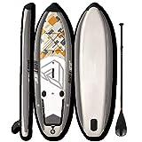 Yhjkvl Tabla inflable de SUP Board10'10 'SUP inflable tabla de pie de paleta tabla de surf tabla de pesca tabla de paleta