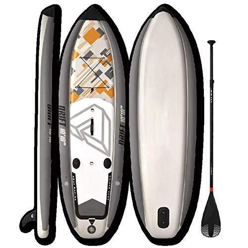 Zjcpow Tabla De Paddle Surf Sup Tabla De Sup Inflable De 10'10'Stand Up Paddle Board Tabla De Pesca De Surf Todos Los Niveles De Habilidad
