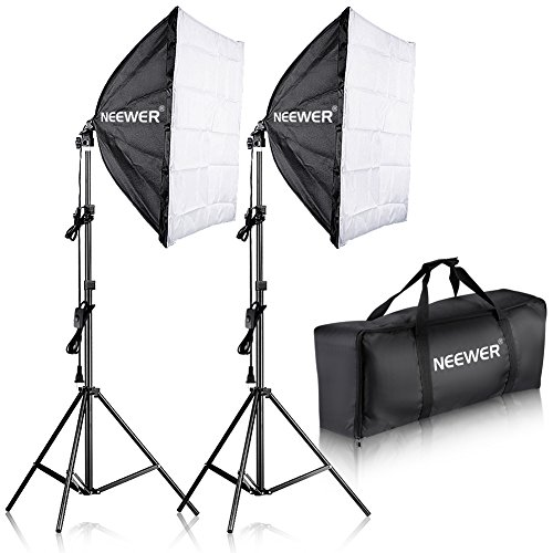 Neewer 700W Professional Photography 24x24 inches/60x60 Centimeters Softbox with E27...