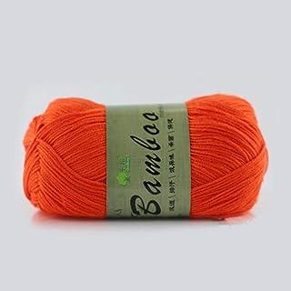 AILOVA Pelotes de Laine, Charbon de Bambou Tencel Laine Coton Souple Pelotes de Laine Crochet à Tricoter Fil pour Chandail...