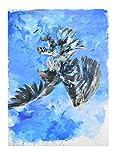 Germanposters Georg Baselitz Adler Poster Kunstdruck Bild